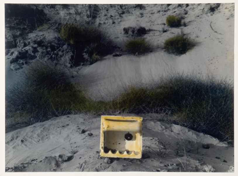 Tájrészlet szappantartóval 1994.