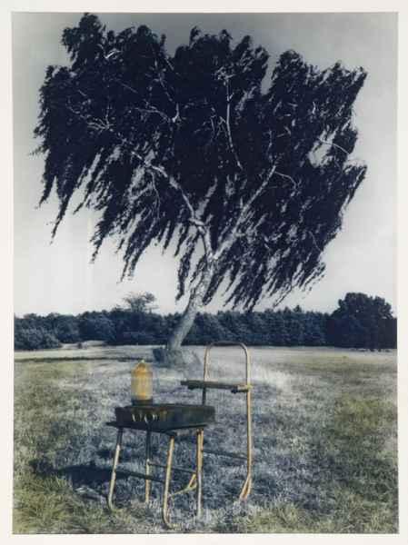 Tájrészlet tárgyakkal 1994.
