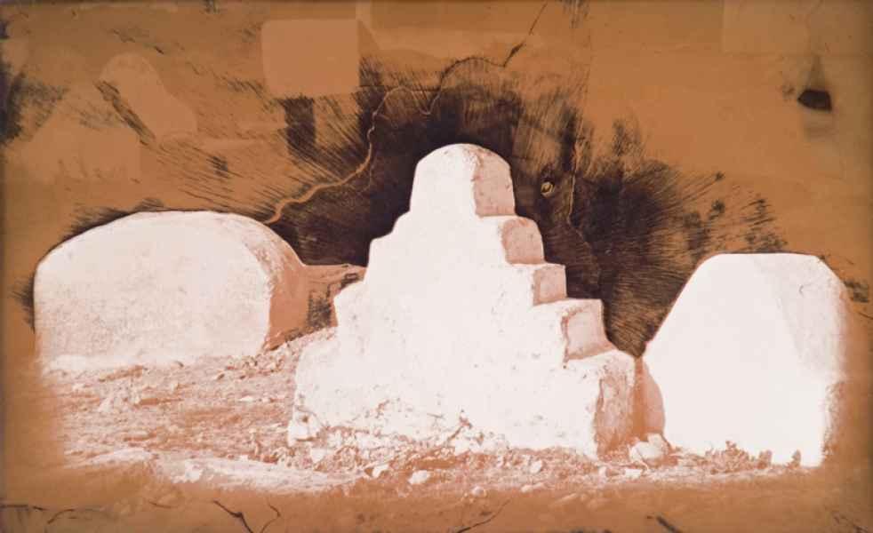 Marokkói sírok 6. 1985.