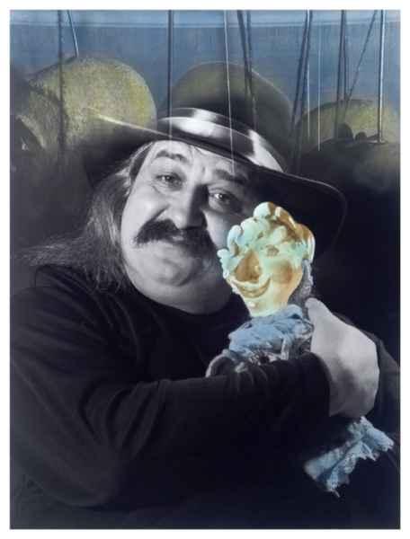Bábszínész portréja 2002.
