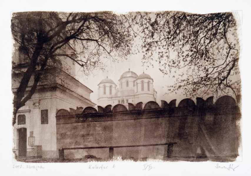 Ukrán kolostor 2002.